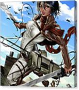 Mikasa Ackerman Canvas Print