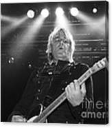 Mike Peters The Alarm By Diana Sainz Canvas Print
