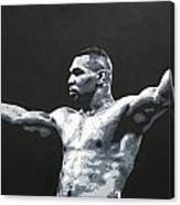 Mike Tyson 1 Canvas Print