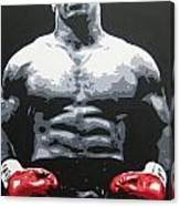 Mike Tyson 10 Canvas Print