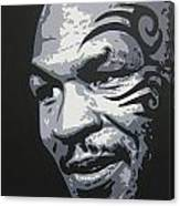 Mike Tyson 11 Canvas Print