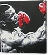 Mike Tyson 6 Canvas Print
