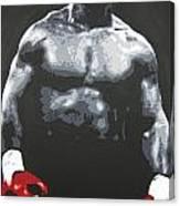 Mike Tyson 8 Canvas Print