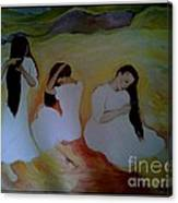 Mikva Canvas Print