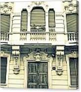 Milan Vintage Building Canvas Print