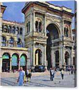 Milano Dome Square 1 Canvas Print