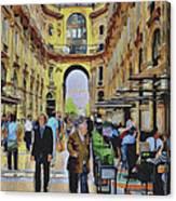 Milano Shopping Center 3 Canvas Print