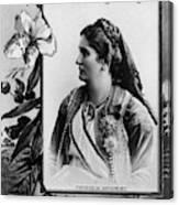 Milena Vukotic (1847-1923) Canvas Print