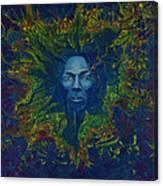 Miles. Aura. Into Creation Canvas Print