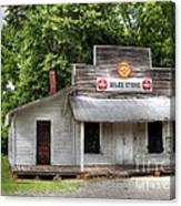 Miles Country Store Canvas Print