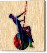 Miley Cyrus Wrecking Ball Canvas Print