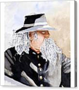 Military Man Canvas Print