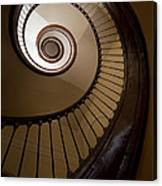 Milk And Chocolate Staircase Canvas Print