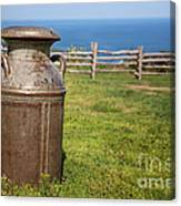 Milk Churn Canvas Print