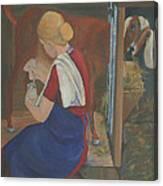 Milkmaid Canvas Print