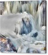 Milky Waterfall Canvas Print