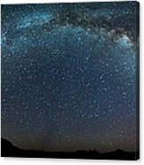 Milky Way Bow Canvas Print