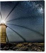 Milky Way Over Marshall Point Canvas Print