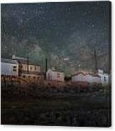 Milky Way Over Standard Mill Canvas Print