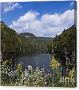 Mill Creek Lake - D001303 Canvas Print