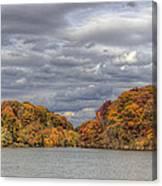 Mill Creek Park In Fall Canvas Print