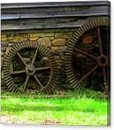 Mill Gears Canvas Print