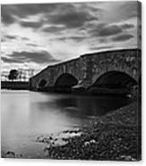 Mill Gut Bridge Canvas Print