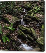Millcreek Road Waterfall Canvas Print