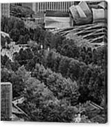 Millenium Park From Above Canvas Print