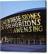 Millennium Centre Canvas Print