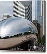 Millennium Park View Canvas Print