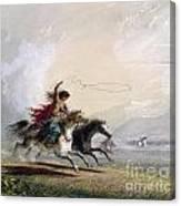 Miller - Shoshone Woman Canvas Print