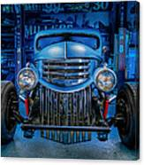 Millers Chop Shop 1946 Chevy Truck Canvas Print