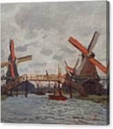 Mills At Westzijderveld Canvas Print