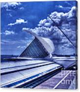 Milwaukee Art Museum 1 Canvas Print
