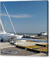 Milwaukee Art Museum Canvas Print