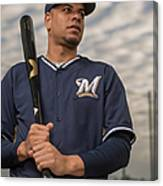 Milwaukee Brewers Photo Day Canvas Print