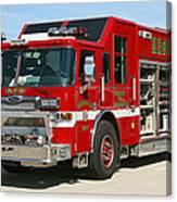 Milwaukee Fire Dept. Rescue 1  Canvas Print