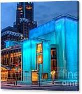 Milwaukee Pac Evening Glow Canvas Print