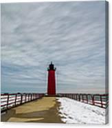 Milwaukee Pierhead Light Canvas Print