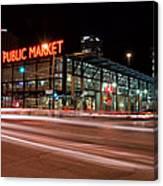 Milwaukee Public Market Canvas Print