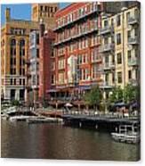 Milwaukee River Architecture 4 Canvas Print