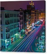 Milwaukee's Evening Active Glow Canvas Print