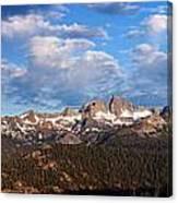 Minarets Of California Canvas Print