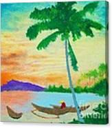 Mindanao Sunset Canvas Print