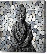 Mineral Buddha Canvas Print