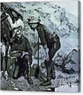 Miners Prospecting Canvas Print