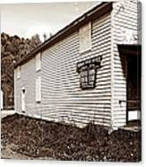 Mingo Post Office And Foxhill Farms General Store Canvas Print