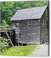 Mingus Mill In Tennessee Canvas Print