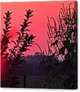 Mini Sunset Canvas Print